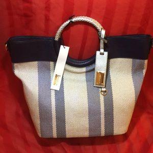 Kate Landry Navy/Silver Bag